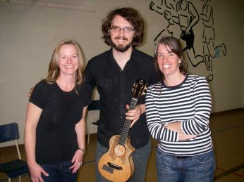 Me, James Hill and Tara Klager, April 2010